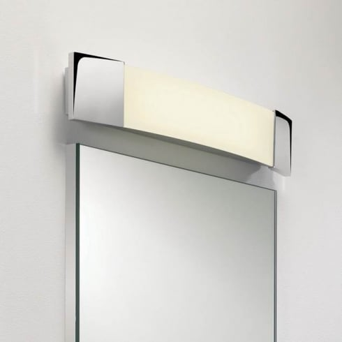 Astro Lighting Bow Plus 0616 Unswitched Polished Chrome Finish Bathroom Surface Wall Light