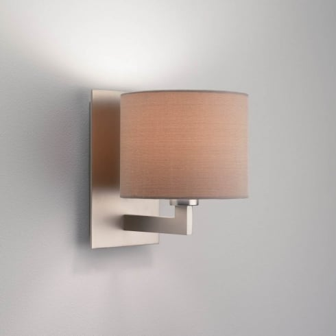 Astro Lighting Olan 0861 Unswitched Matt Nickel Surface Wall Light