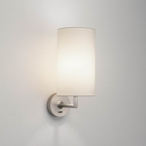 Astro Lighting Appa Solo 0919 Switched Matt Nickel Finish Surface Wall Light