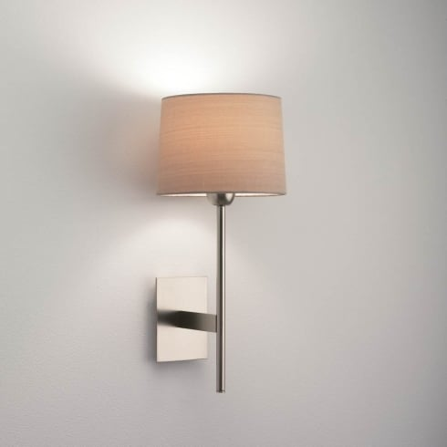 Astro Lighting Lloyd 0921 Unswitched Matt Nickel Finish Surface Wall Light