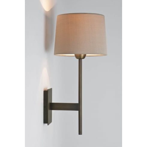 Astro Lighting Lloyd 0922 Unswitched Bronze Finish Surface Wall Light