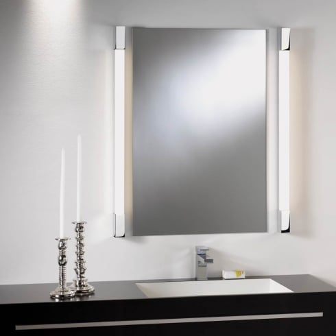 Astro Lighting Romano 600 0999 (High Output) Unswitched Polished Chrome Finish Bathroom Surface Wall Light