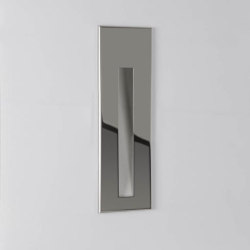 Astro Lighting Borgo 55 (IP65) 7089 Unswitched Polished Stainless Steel Recessed Wall Light