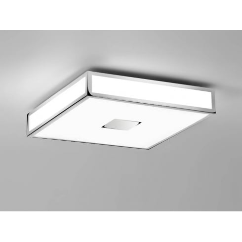 Astro Lighting Mashiko 300 LED 7100 Unswitched Polished Chrome Finish Bathroom Flush Ceiling Light