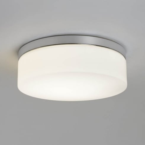 Astro Lighting Sabina 280 7186 Unswitched Polished Chrome Finish Round Flush Ceiling Light