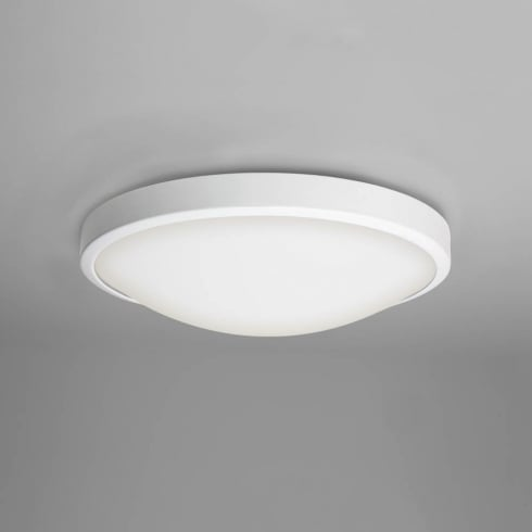 Astro Lighting Osaka 7383 Unswitched White Finish Round Flush Ceiling Light