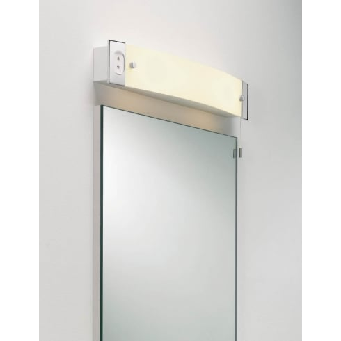 Astro Lighting Shaver Light 0275 Polished Chrome Finish Bathroom Surface Wall Light