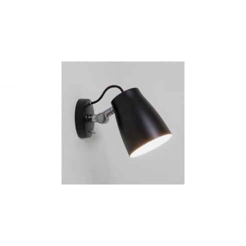 Astro Lighting Atelier Wall 7502 Switched Black Finish Surface Wall Light