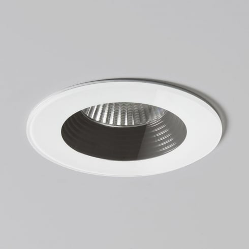 Astro Lighting Vetro Round Fire Rated 5733 White Finish Recessed Bathroom Downlight