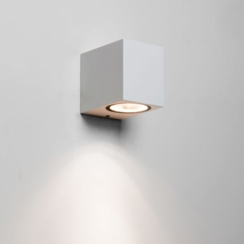 Astro Lighting Chios 80 7564 Unswitched White Finish Exterior Surface Wall Light