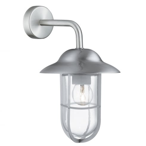 Searchlight Electric Well Glass 3291SS Outdoor Surface Wall Light