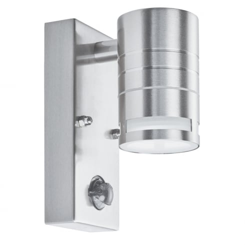 Searchlight Electric 1318-1 Stainless Steel Outdoor Surface Wall Light with Motion Sensor