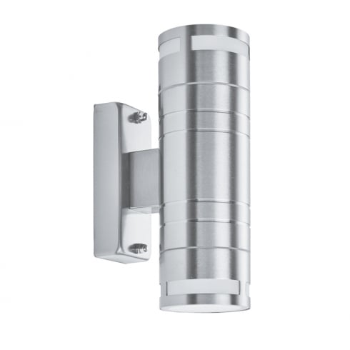 Searchlight Electric 2018-2 Stainless Steel 2 Light Outdoor Surface Wall Light