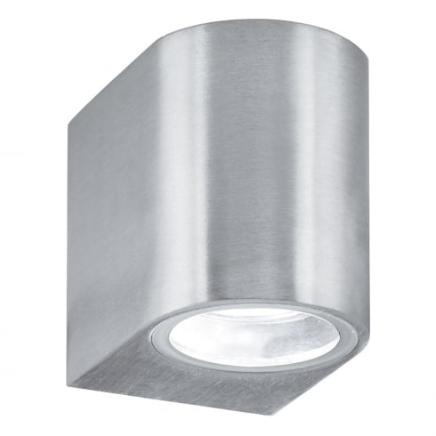 Searchlight Electric Silver 8008-1SS Outdoor Surface Wall Light