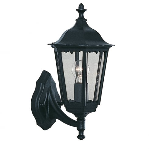 Searchlight Electric Alex 82530BK Outdoor Surface Wall Light