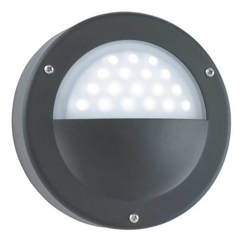 Searchlight Electric 8744BK Outdoor Surface Wall Light