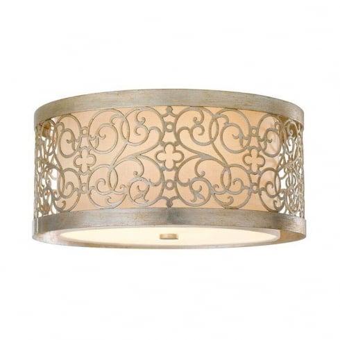 Elstead Lighting Arabesque Flush FE/ARABESQUE/F Ceiling Light