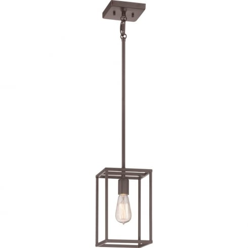 Elstead Lighting New Harbor 1 Lt Mini Pendant QZ/NEWHARBOR/P