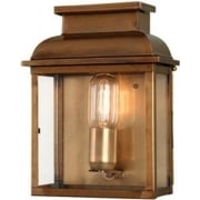 Old Bailey Outdoor Brass Wall Lantern
