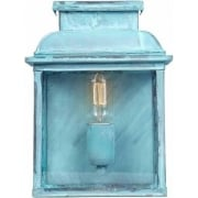 Old Bailey Outdoor Verdigris Wall Lantern
