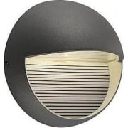 LED Downunder Round 230862 Anthracite LED Warm White Wall Light