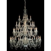 MODRA CP06033/40/CH Polished Chrome With Crystal Detail Chandelier