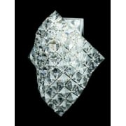 DIAMOND CE01081/WB/CH Polished Chrome Wall Light
