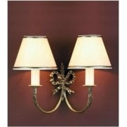 RICHMOND SMBB00012/PB Polished Brass With Shade Wall Light