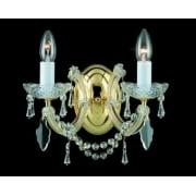 MARIE THERESA CP00150/02/WB/G Gold Wall Light