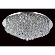 PARMA CFH011025/12/CH Polished Chrome Flush Pendant