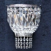 Baguette 172/1  Chrome Crystal Trimmings Wall Bracket