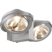 149142 Tec 2 QRB Silver Grey Wall & Ceiling Light