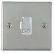 Hartland 73FOBC-W Bright Chrome 1 gang 13A Fuse Only