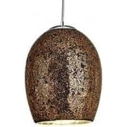 Crackle 8069BZ Bronze And Mosaic Pendant