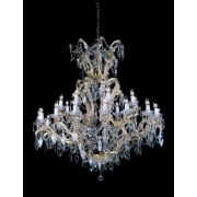 MORINA CP04424/24+1 Gold With Crystal Detail Chandelier