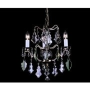 LOUVRE CP06003/03/AB Antique Bronze Chandelier