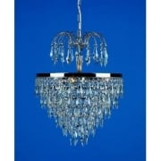 DRESDEN ST00007/35/03/N Nickel With Crystal Detail Chandelier