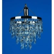 HALLE ST00103/25/01/N Nickel With Crystal Detail Chandelier