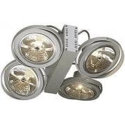 149144 Tec 4 QRB Silver Grey Wall & Ceiling Light