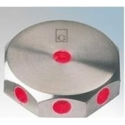 ML02 RED Stainless Steel LED Wall Light Mini
