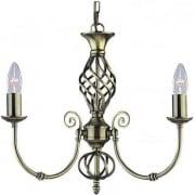 Zanzibar 8393-3 Antique Brass Pendant