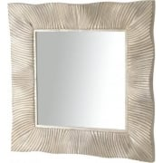 Shimmering Silver Square Mirror 255101