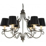 Hidcote HID0645 Brass 6 Light Pendant