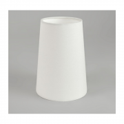 Cone 195 4076 White Fabric Shade