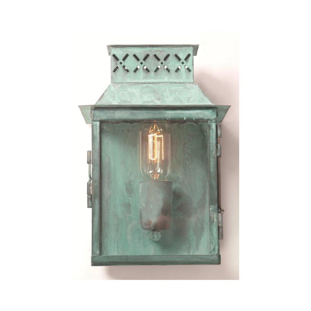 Elstead Lighting Lambeth Palace Outdoor Verdigris Wall Lantern