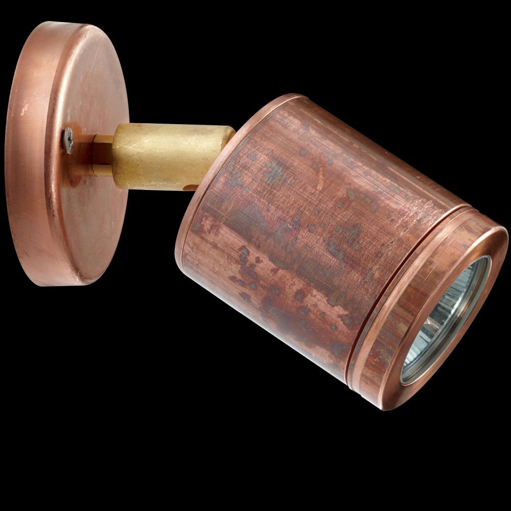 Hunza Wall Spot WS-COP Solid Copper Adjustable Wall Fitting