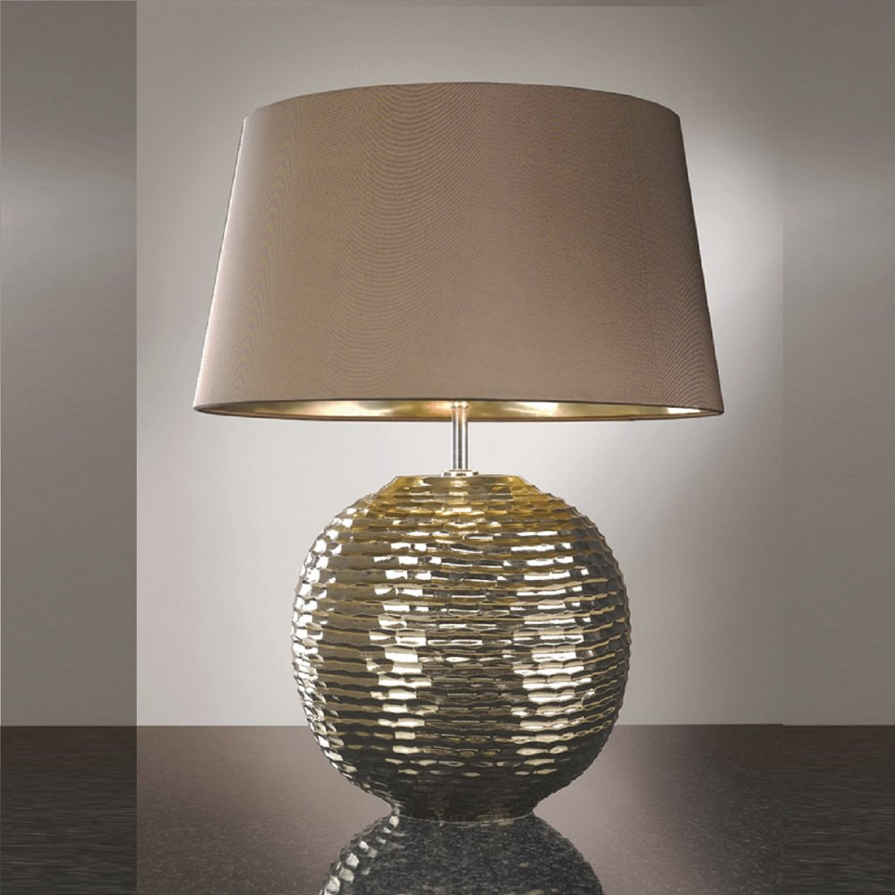 Lighting Lamp: Elstead Lighting Caesar Gold Table Lamp