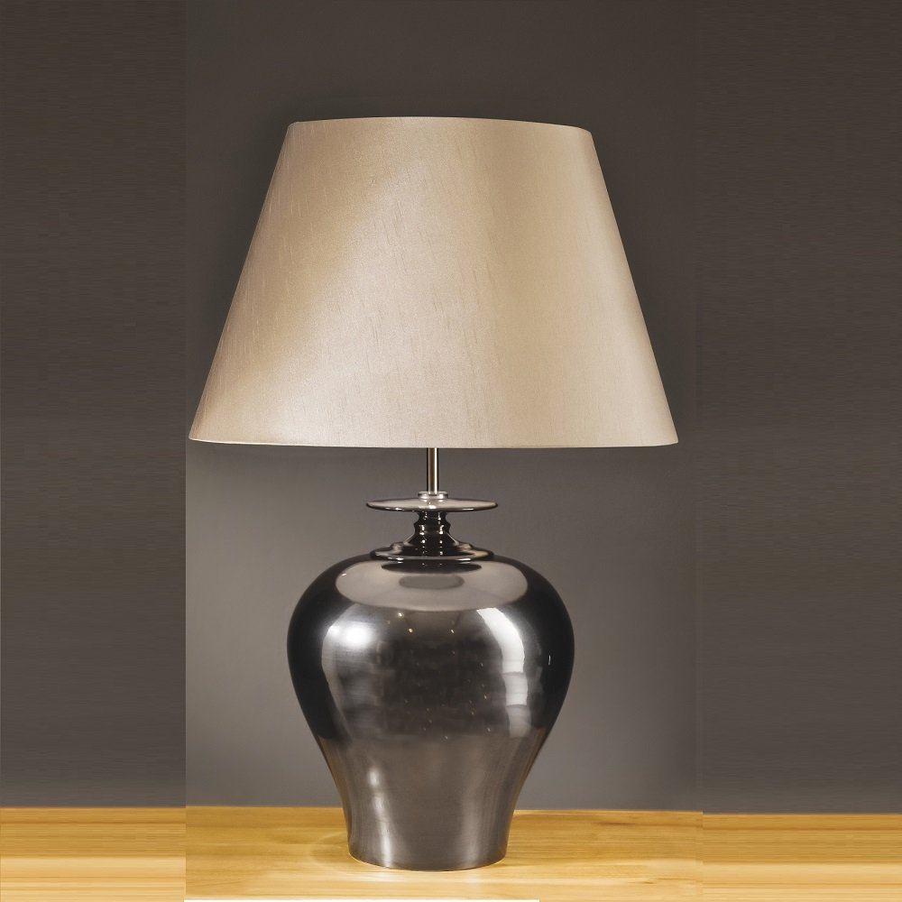 Elstead Lighting Lisboa Pewter Table Lamp