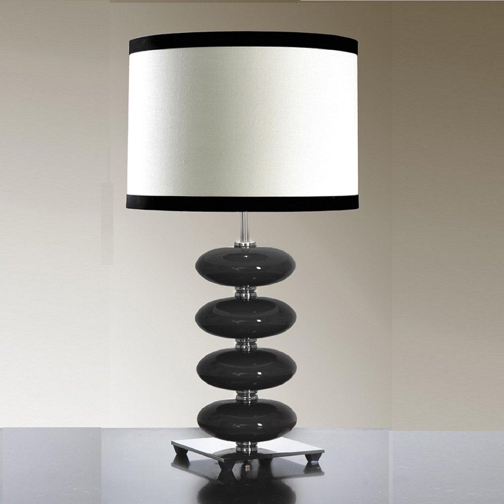 Elstead Lighting Onyx Black Table Lamp Elstead Lighting from