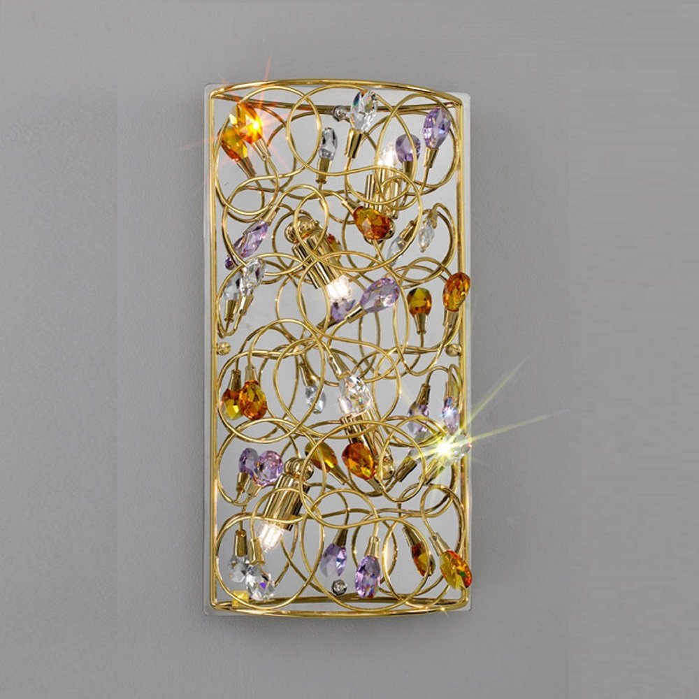 Kolarz UK Ltd Arabesque 0106.64.3.SSTAV Gold Wall Light